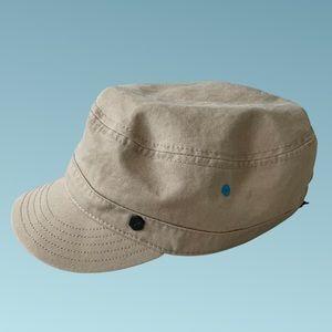 Hurley Newsboy Cap with adjustable Velcro back